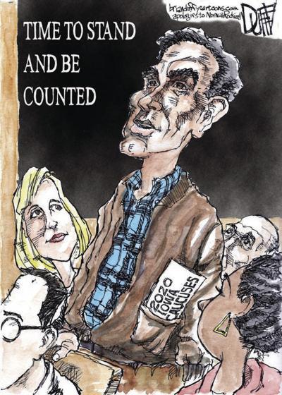 Editorial cartoon for February 5