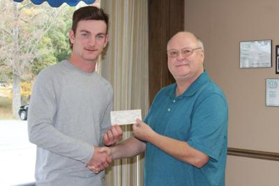 Optimist Club supports Lyon FFA student
