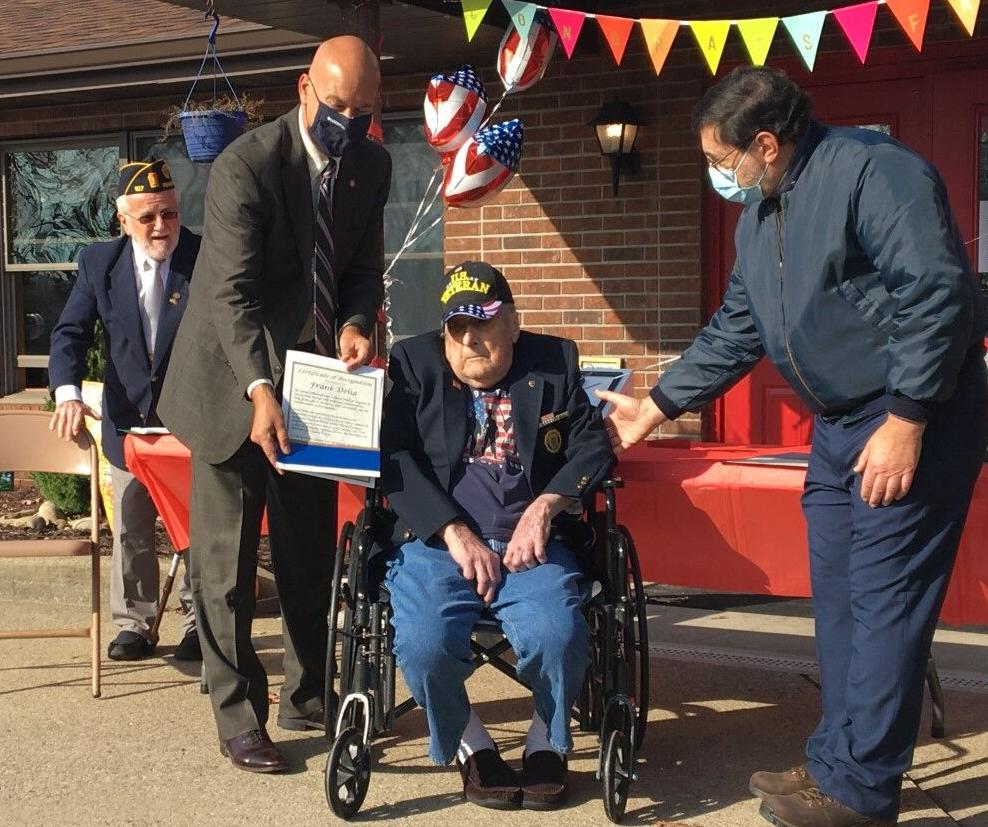 WWII veteran receives recognition