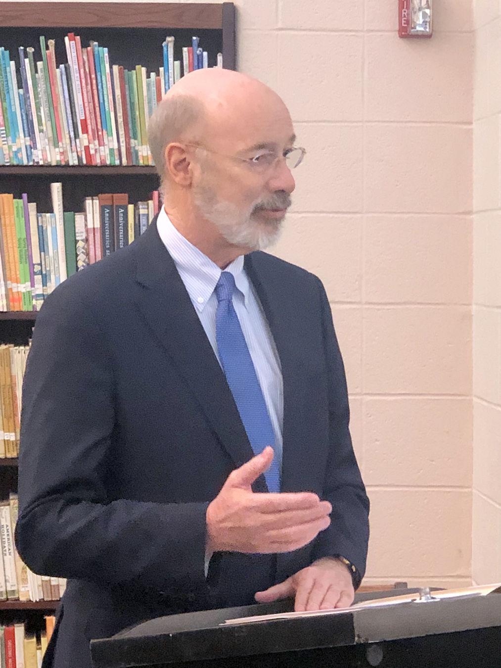 Gov. Tom Wolf visits Greene County