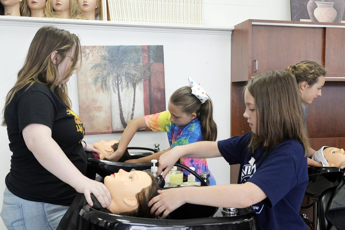 Campers explore careers at Fayette County CTI