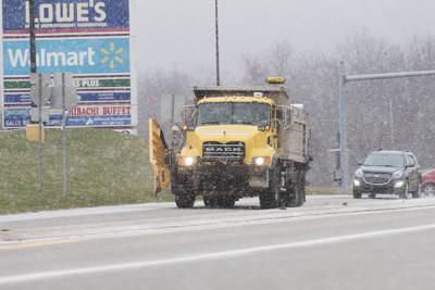 Salting the roads