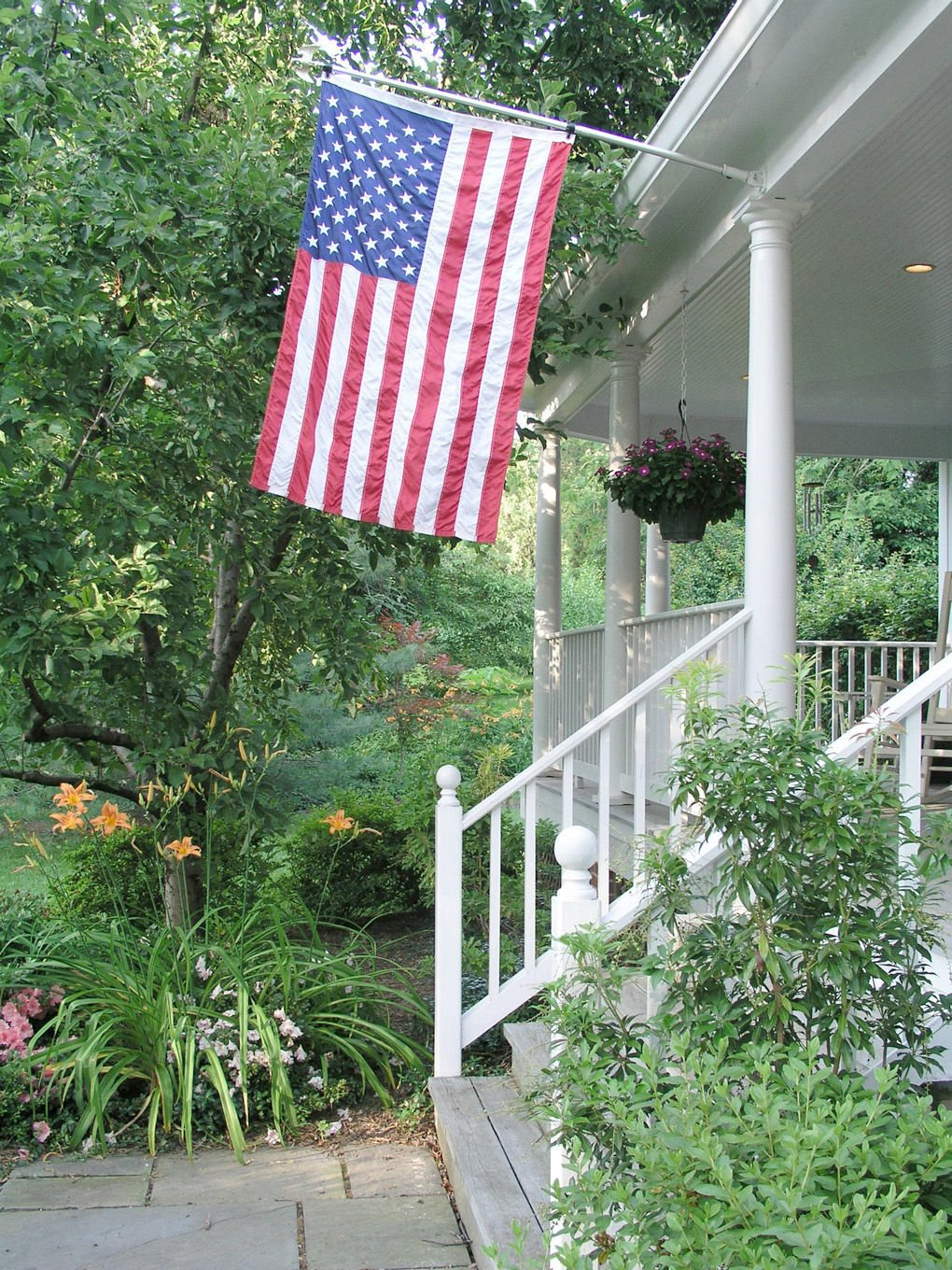 Raising the Stars and Stripes: How to display the American flag at home