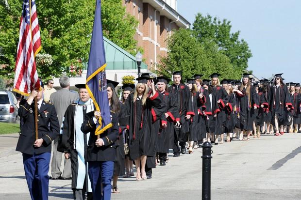 Cal U gradutes 720 students