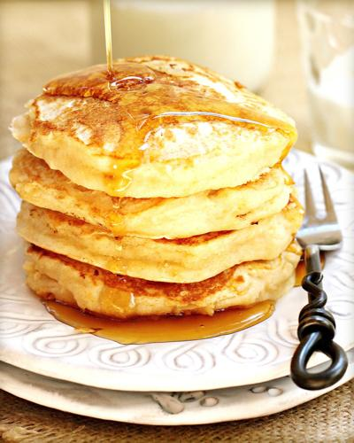 Sunday pancakes become household tradition