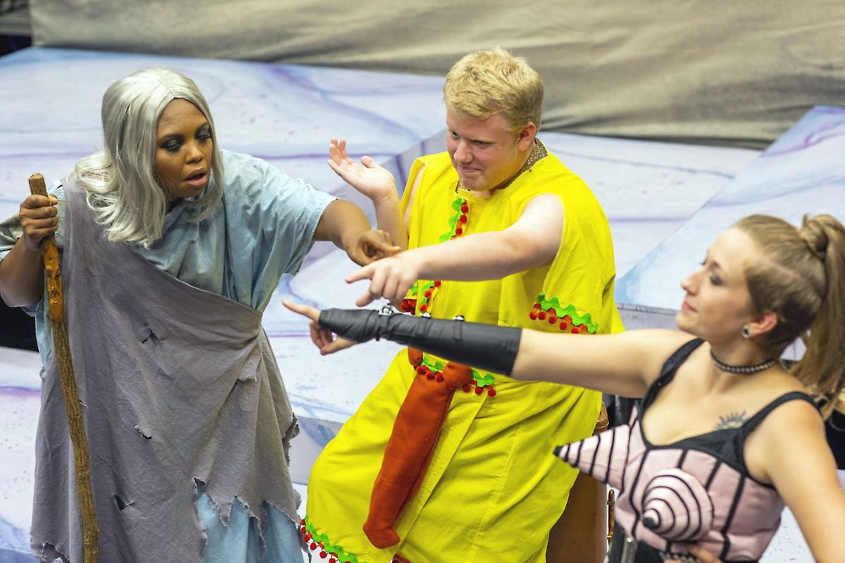 California University theater department opens season with Greek parody