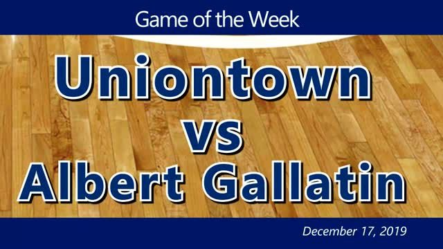 VIDEO: BOYS GAME OF THE WEEK — Uniontown vs Albert Gallatin