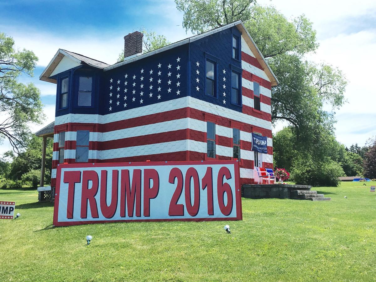 westmoreland county woman goes big in her support of trump
