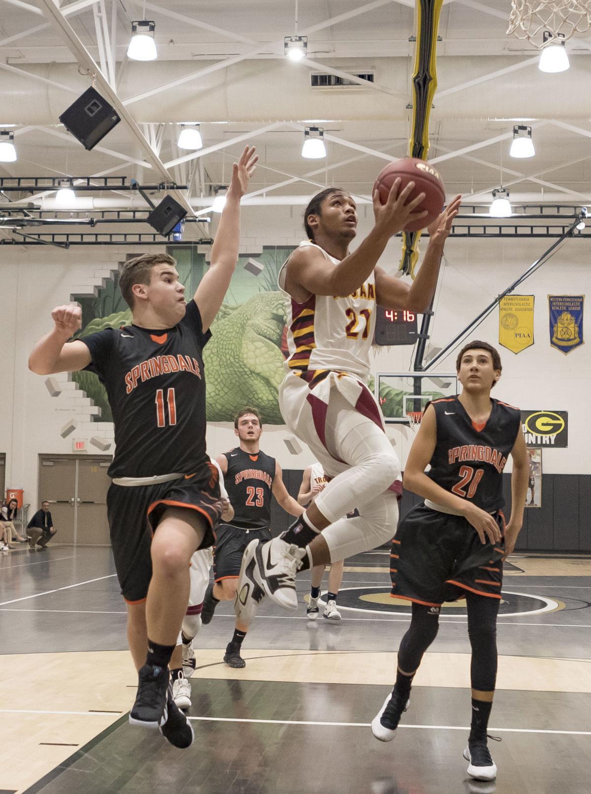 Ryan soars through the air