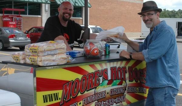 After five years, local hot dog vendor enjoying 'Moore