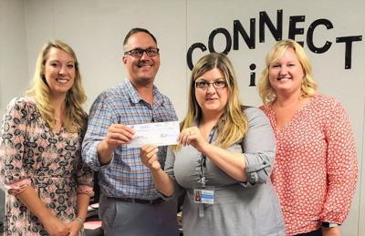 Human Services receives grant