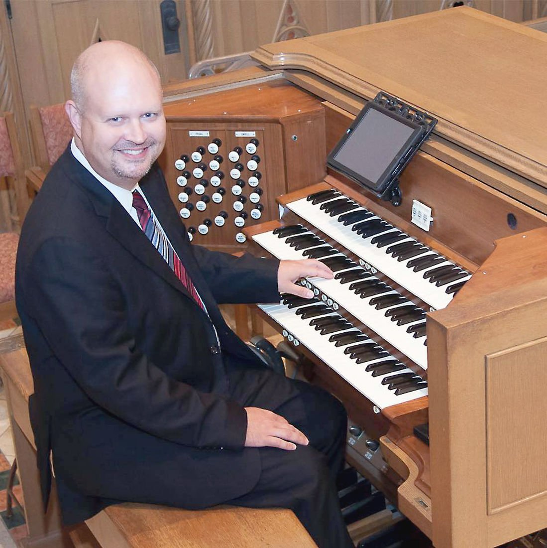 Cathedral organist will perform at Immaculate Conception Parish