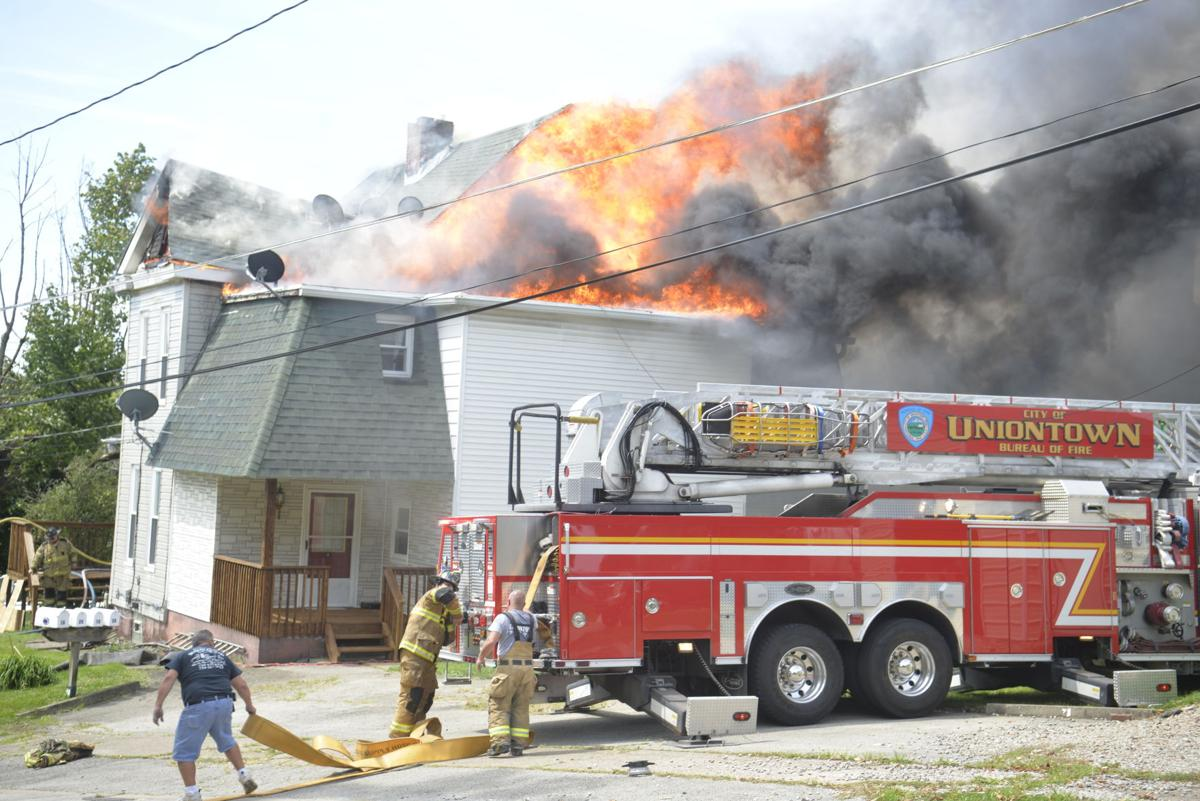 5 displaced from Uniontown apartment fire, 2 cats rescued