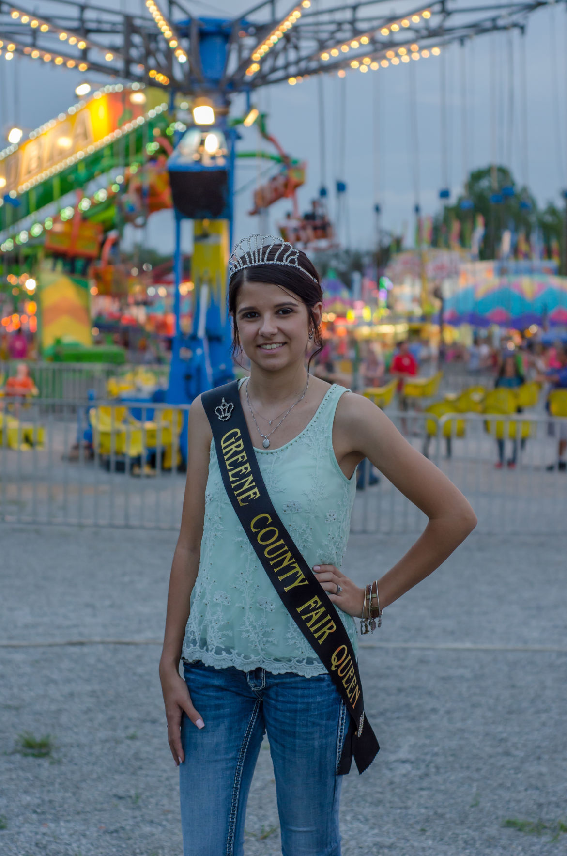 Fair queen reflects on year of royalty