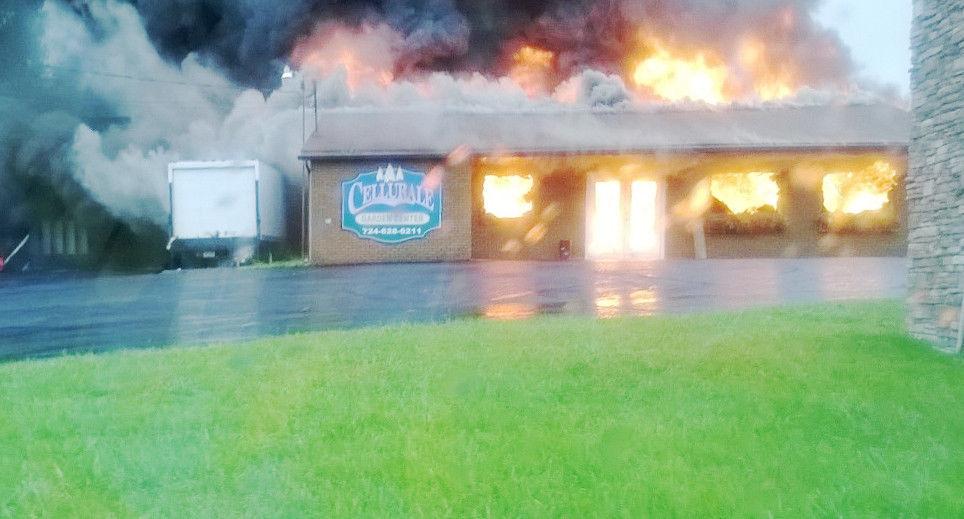 Fire destroys garden center in Dunbar Township Sunday | New