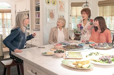 New to home theaters: 'Book Club unites four women struggling with life