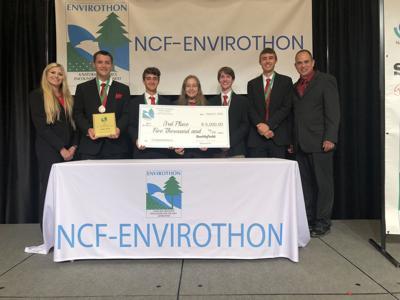 Carmichaels places third in Envirothon