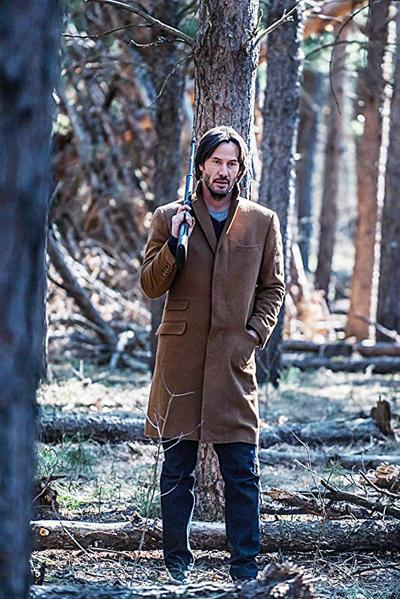 Keanu Reeves brings romance and drama to home theaters this week in 'Siberia'