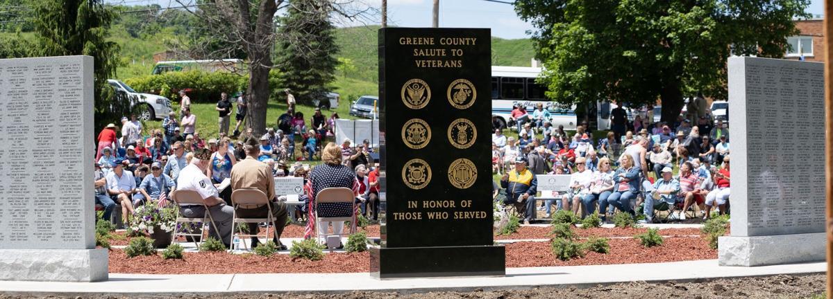 Veterans honored at dedication ceremony for new Memorial Park