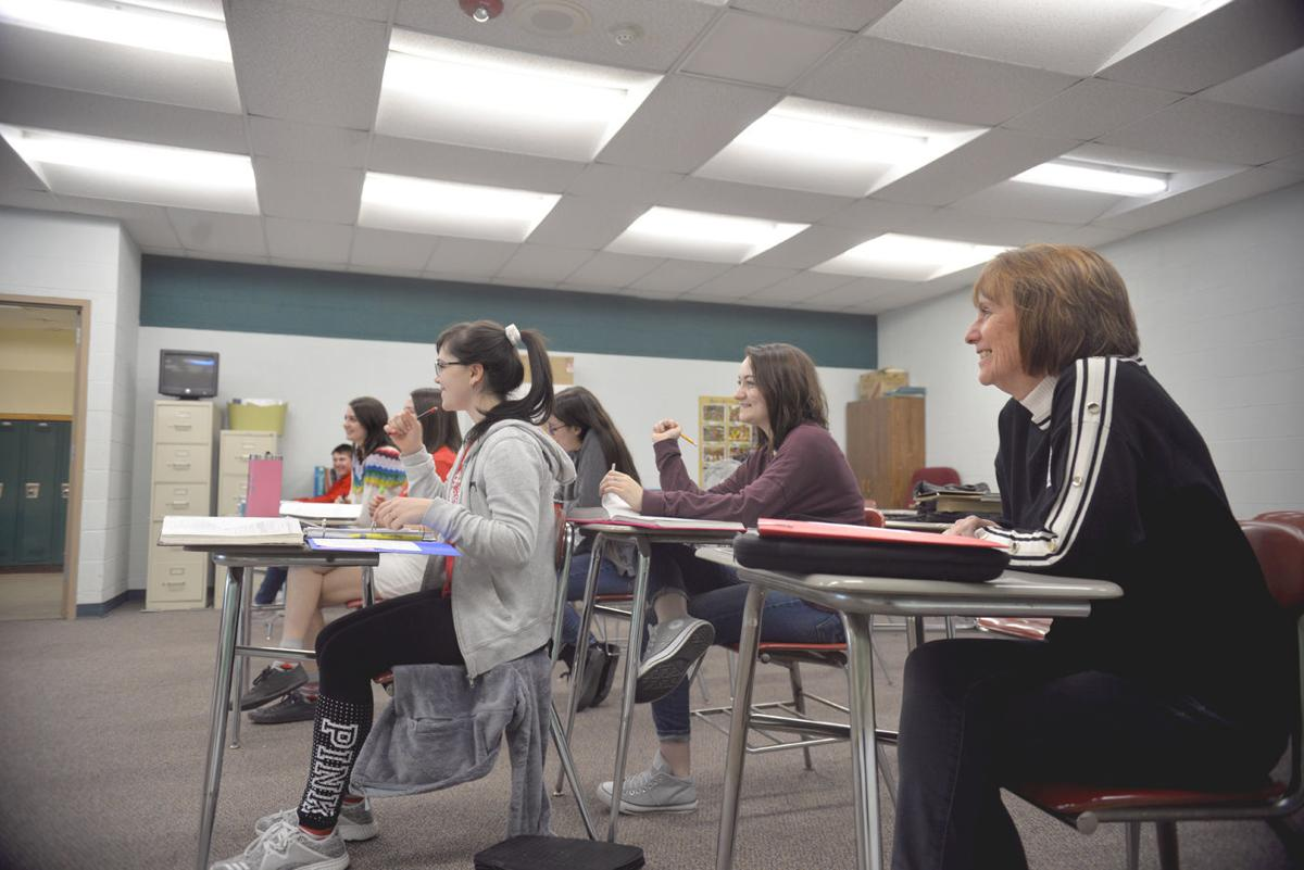 Regional business leaders shadow students at Frazier High School