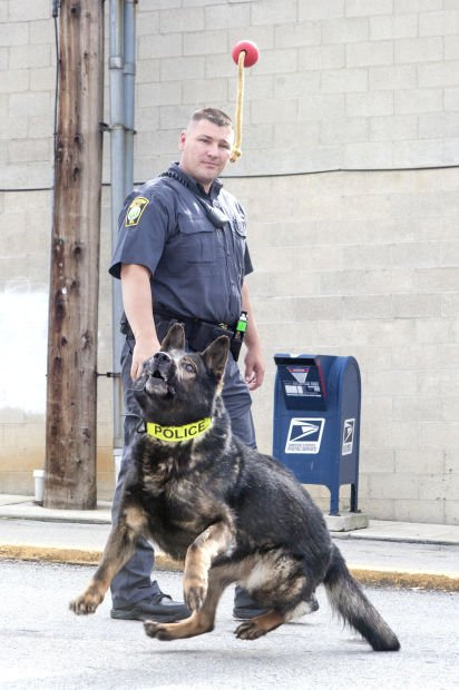 K9 Handler Mike Yeager