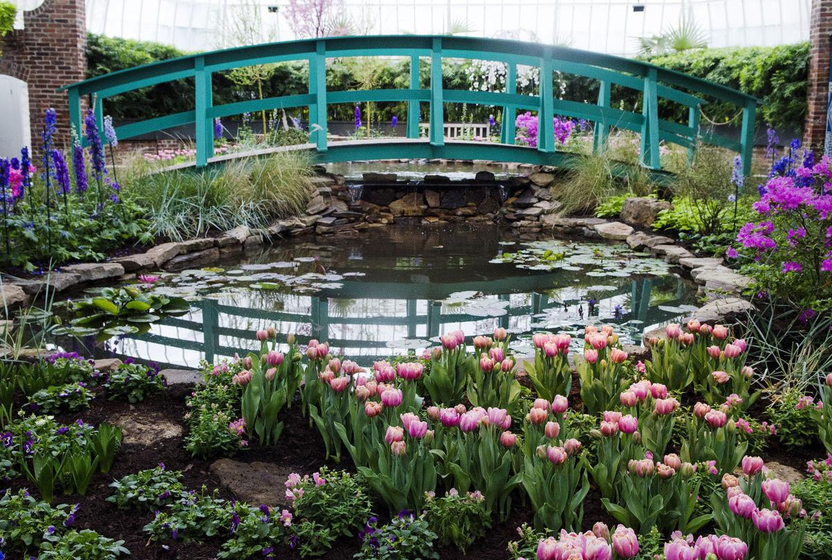 Uniontown woman part of creative team for phipps spring flower show in bloom flowers re create classic paintings in spring show at phipps conservatory mightylinksfo