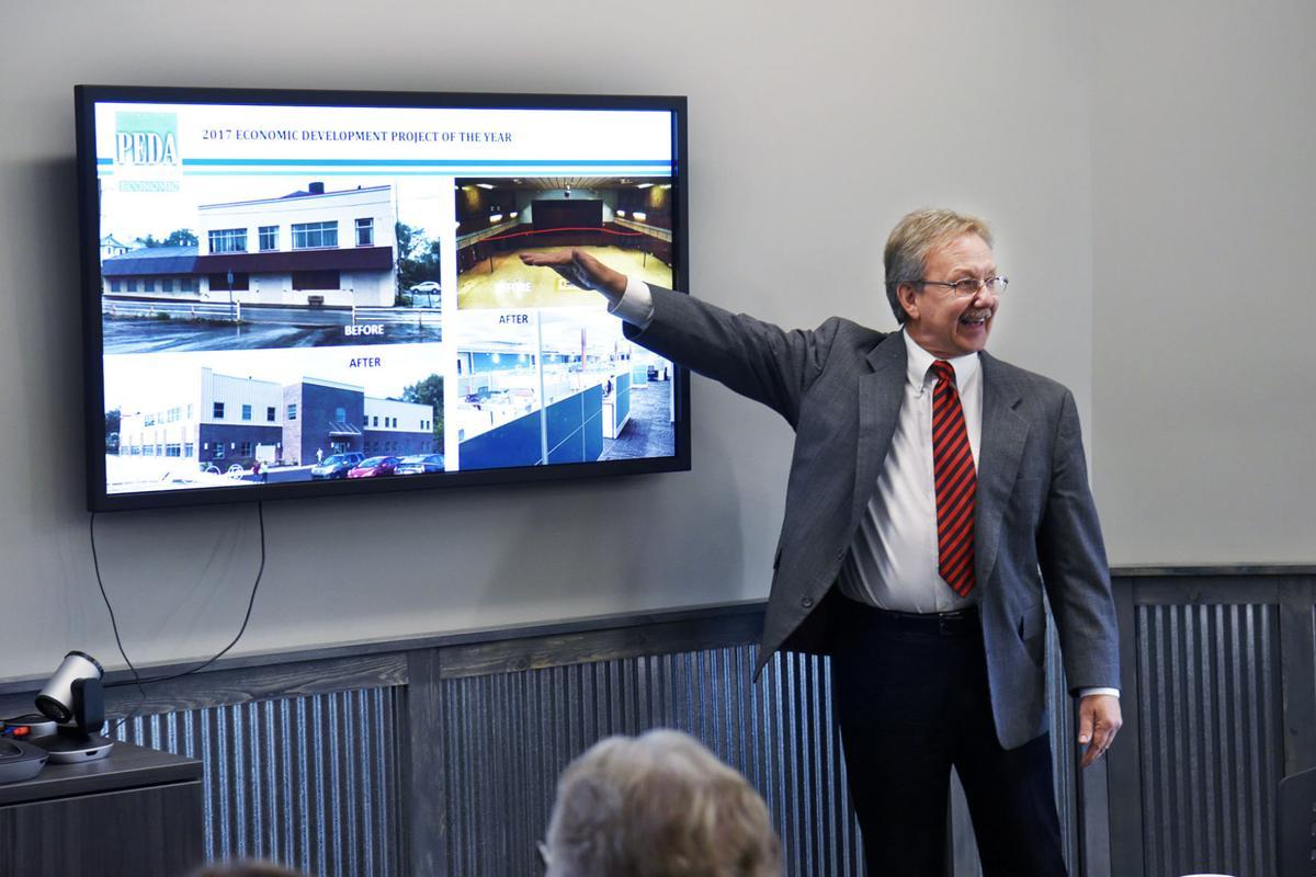 Fay penn receives award for uniontown revitalization for Shark tank fairy door