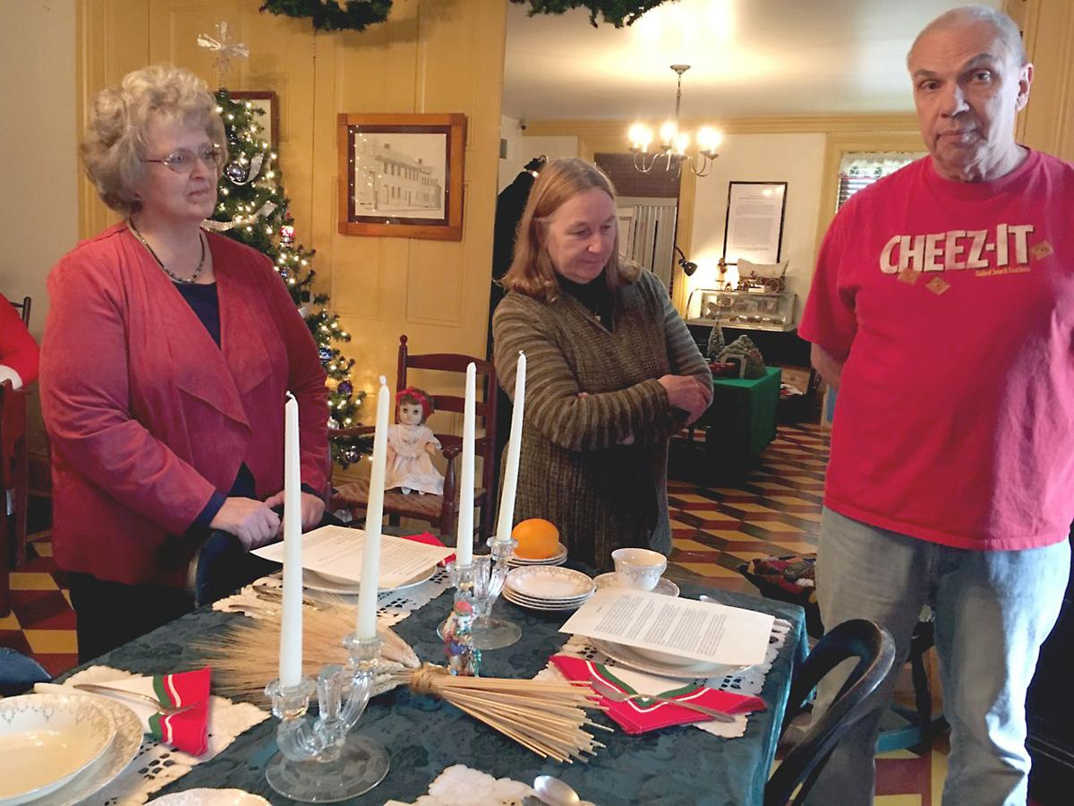 Fayette County Historical Society celebrates Christmas traditions