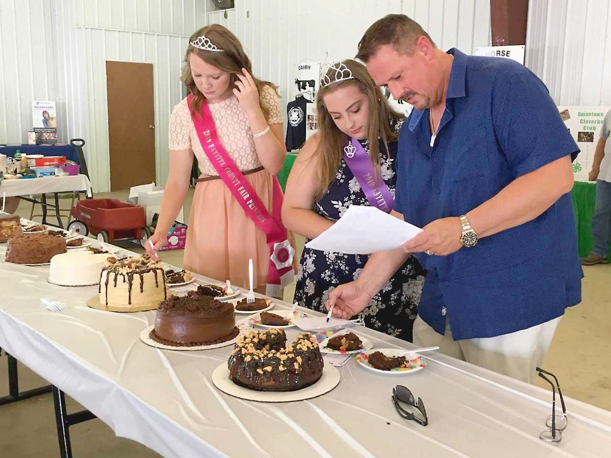 Fayette County Fair chocolate baking contests