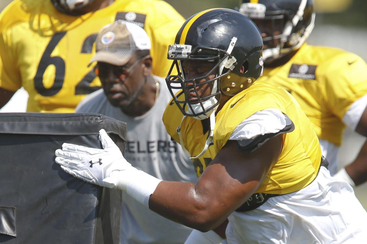 Tuitt showing growth early in camp Local