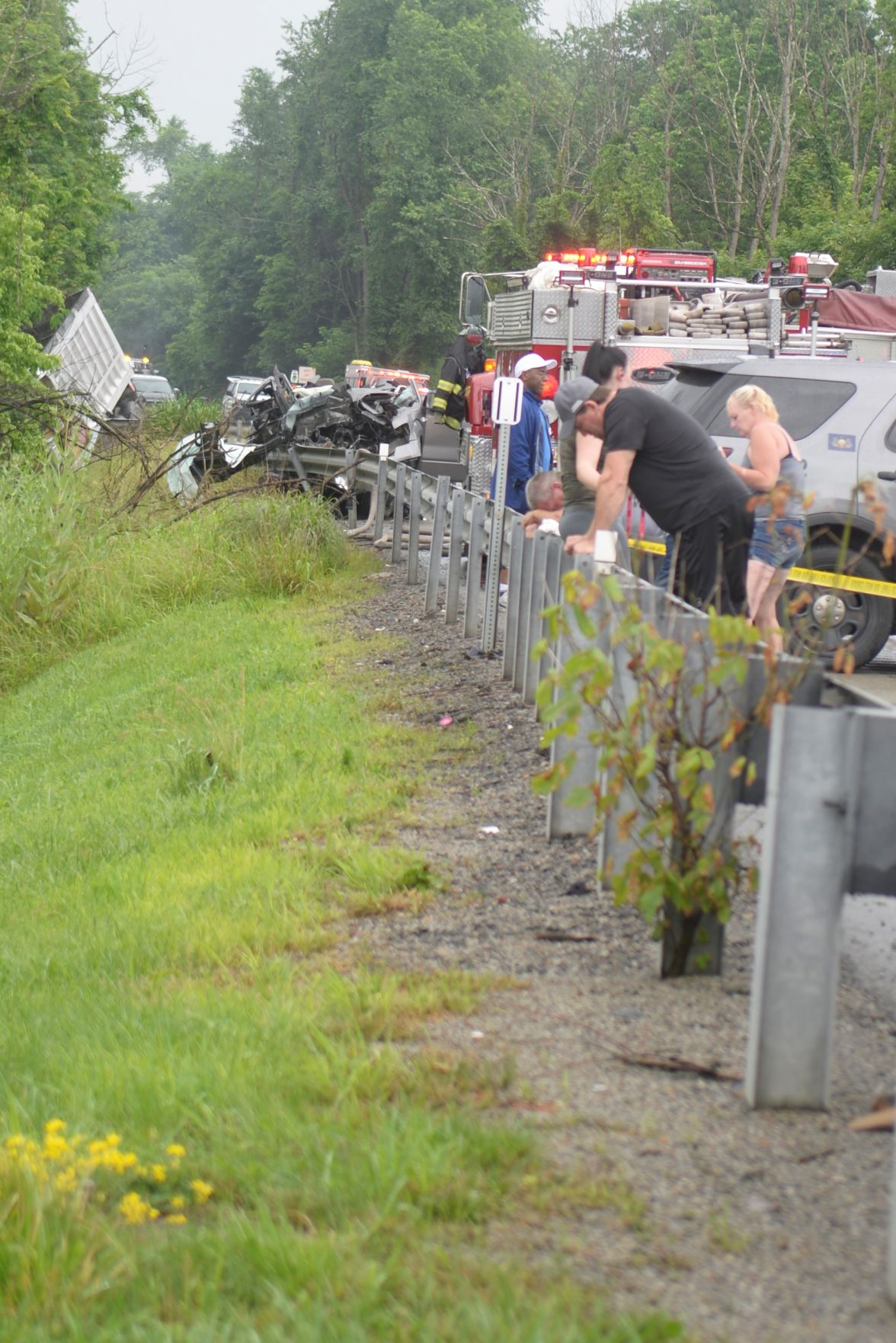Three killed in Route 21 crash