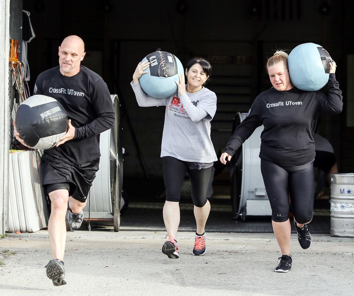 Get Fit competitors get taste of Strongman stones | Get Fit
