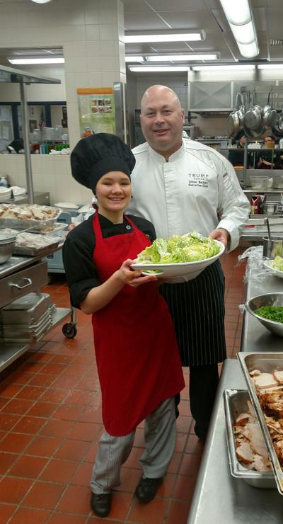 Executive Chef Oliver Beckert with Jordan Platt-Dice