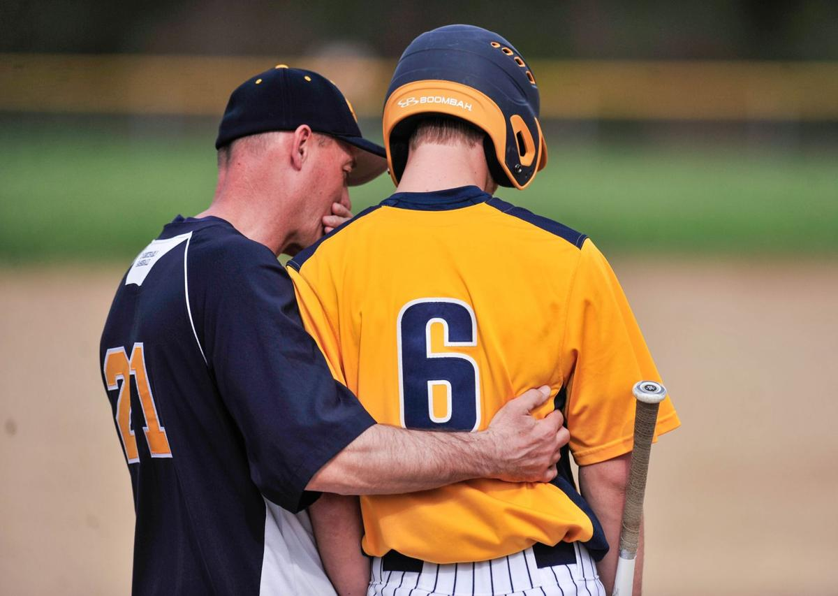 Conferring with coach