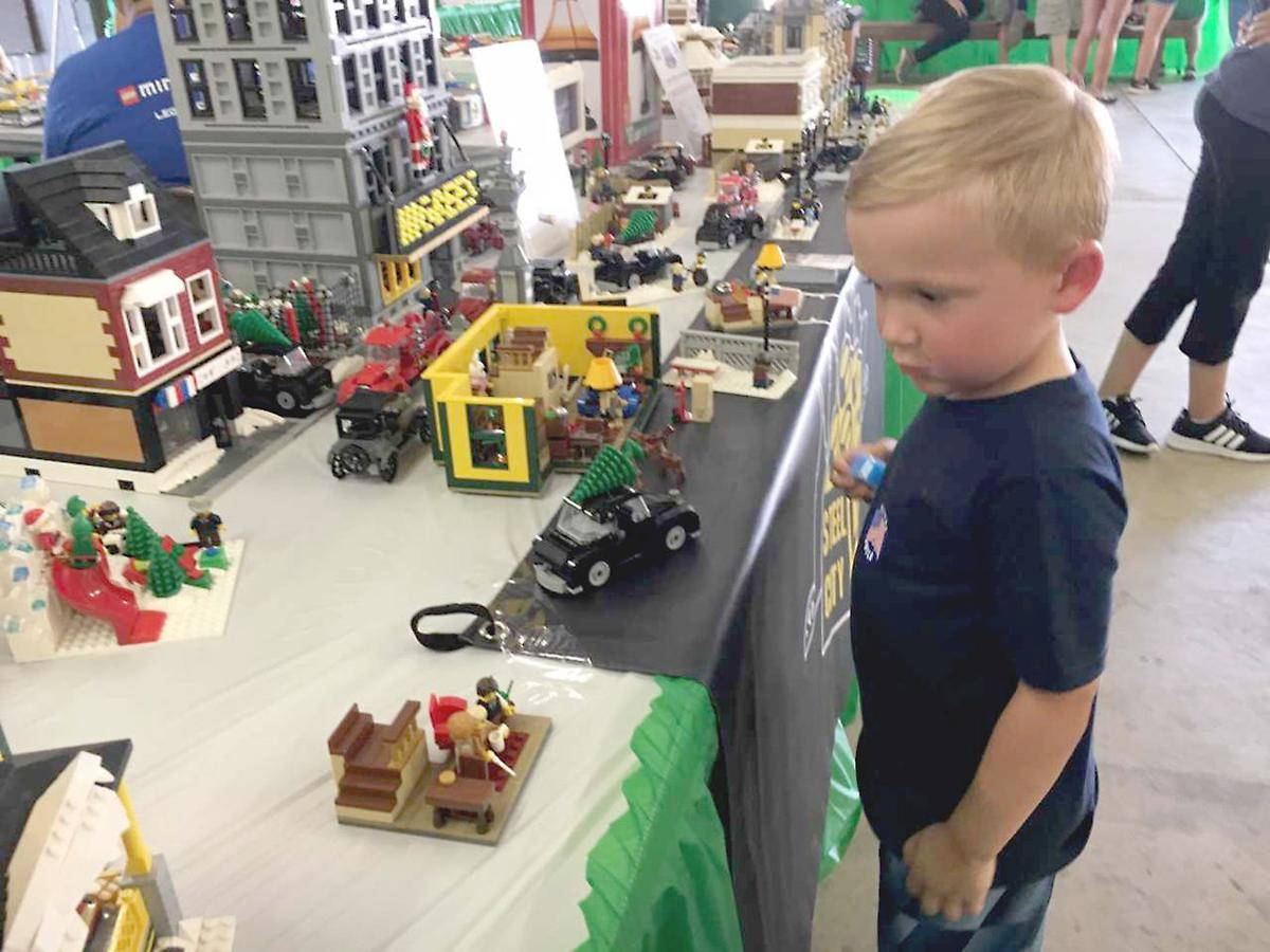 Fayette County Fair welcomes 'A Christmas Story' in LEGOs