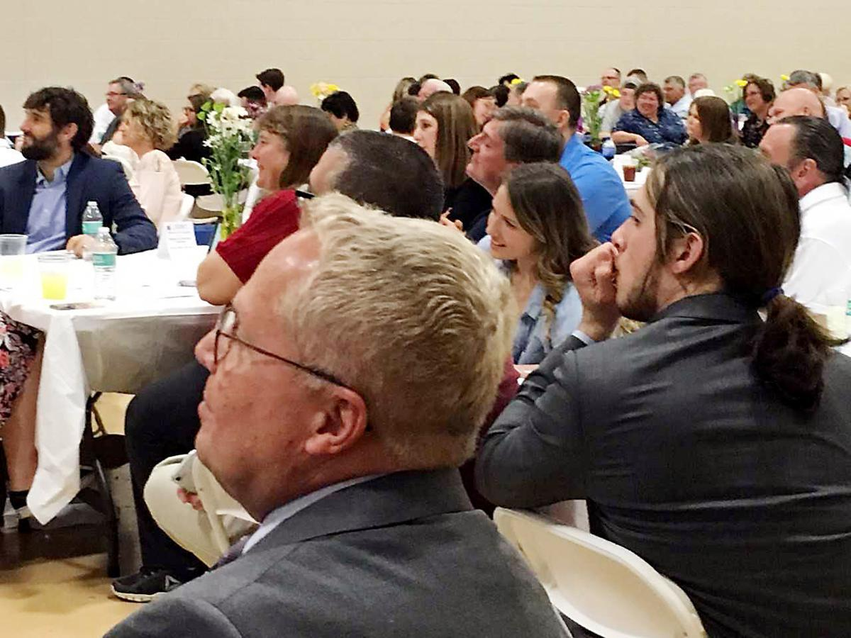Fayette Chamber congratulates its students of the month at annual dinner