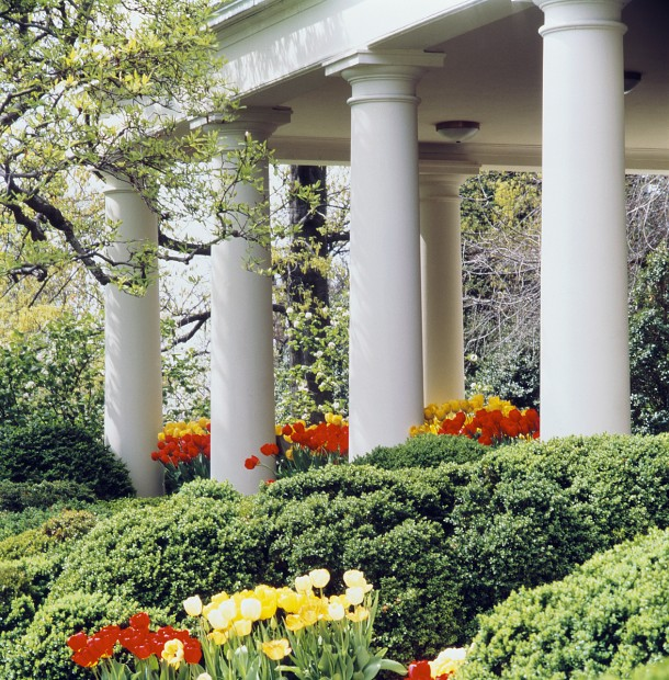 White House Garden Blooms At California University