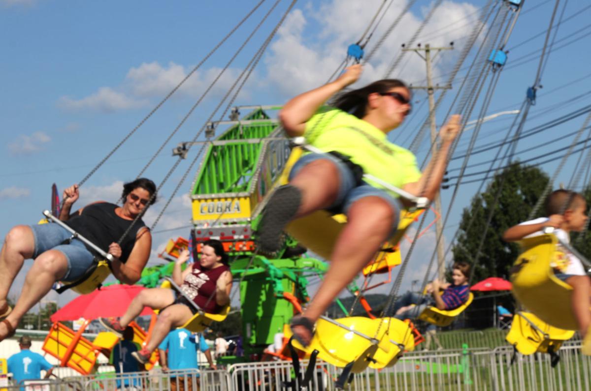 Swinging through the fair