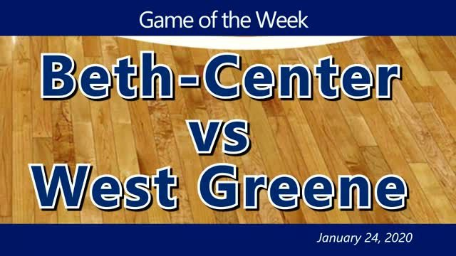 VIDEO: GIRLS GAME OF THE WEEK — Beth-Center vs West Greene