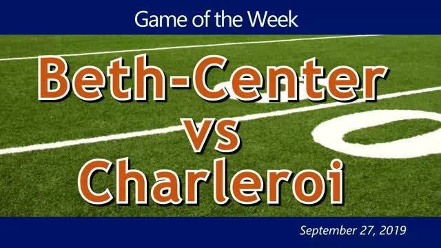 VIDEO: GAME OF THE WEEK — Beth-Center vs Charleroi