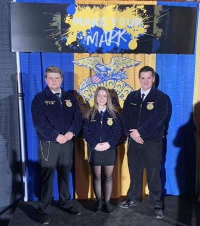 Three county FFA members earn Keystone Degree