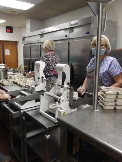 Meal preparation at FCCAA