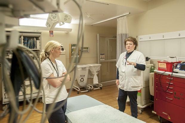 ER nurses prep for the worst