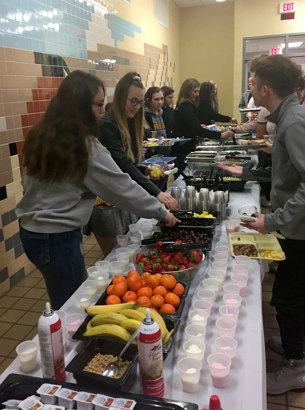 Brownsville celebrates National School Breakfast Week with local foods