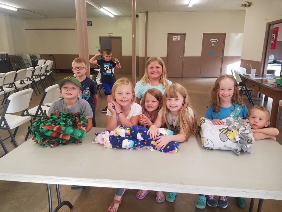 Cloverbuds: molding county's youngsters into 4-H leaders