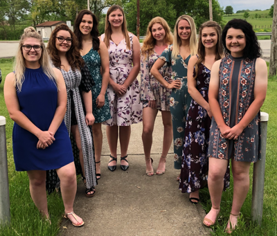 2018-19 Girls of the Month