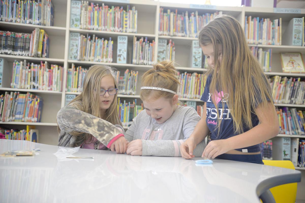 Girls thrive in STEM club at Bullskin elementary school