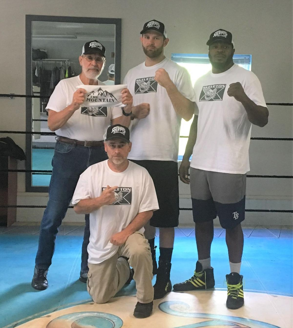 Garnic, Martz team up again for boxing match on national TV