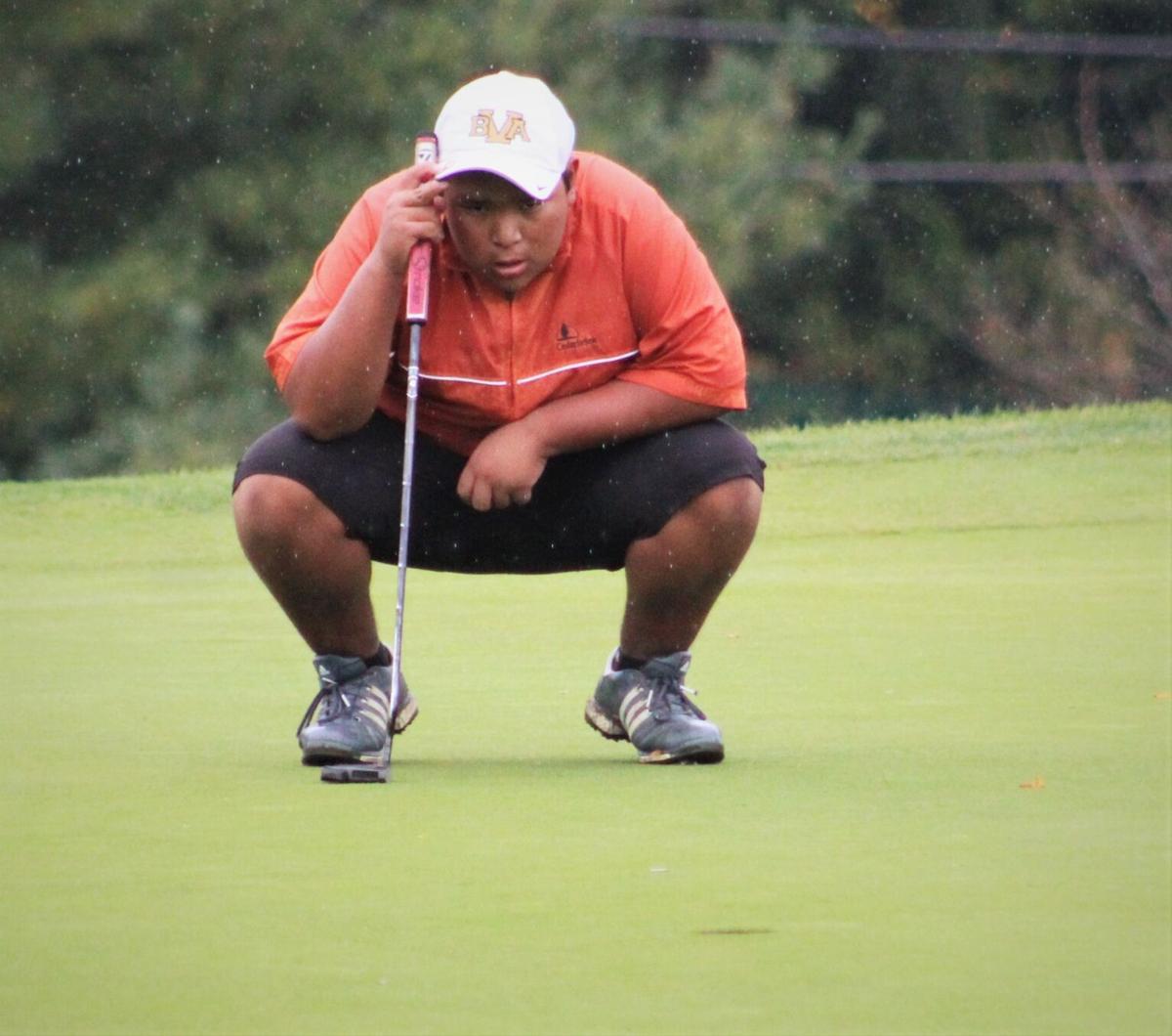 Bush area's top golfer