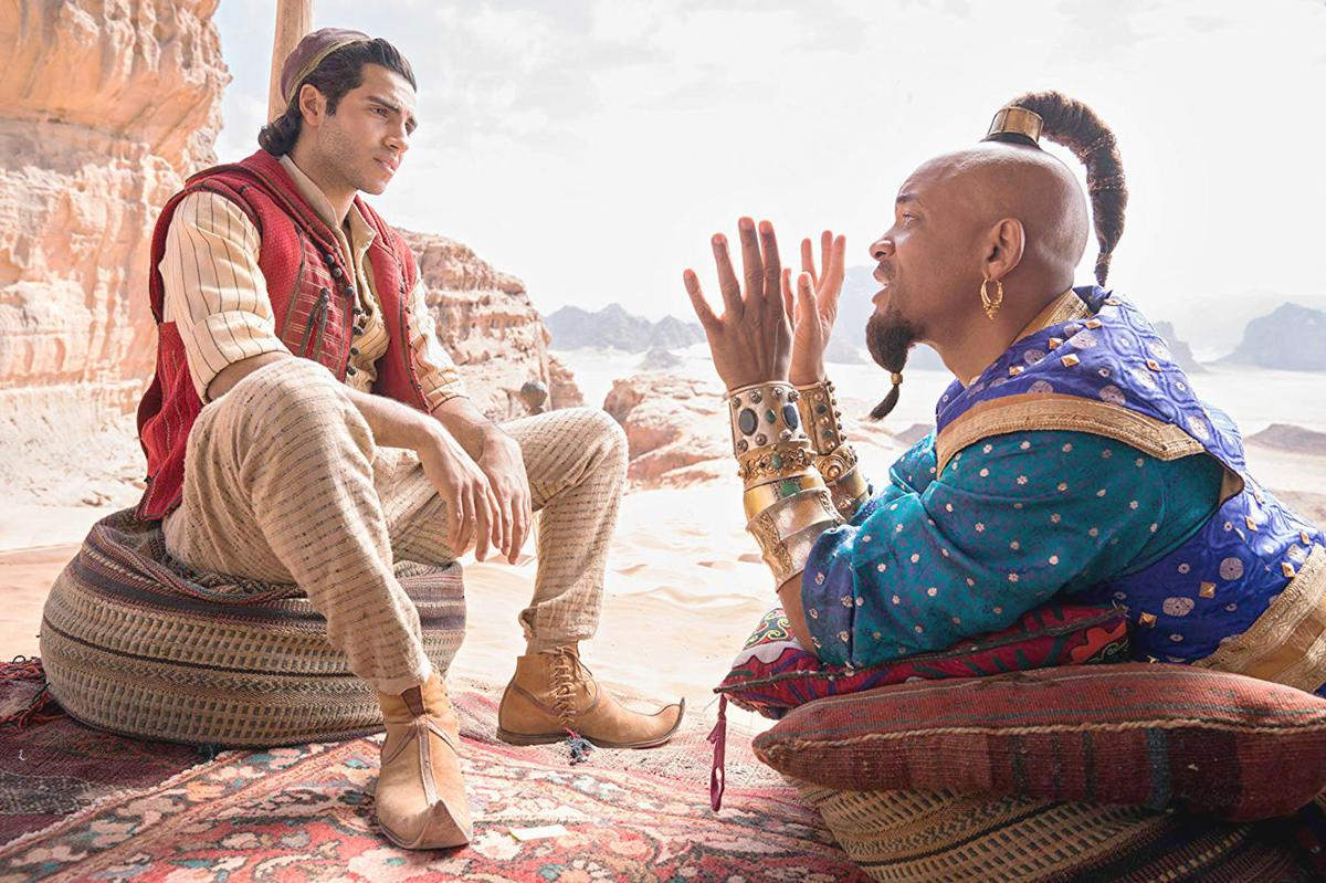 """Live action """"Aladdin"""" hitting theaters this weekend"""